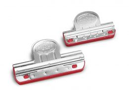 2-Piece Clip-On Sharpening Guide Rail Set